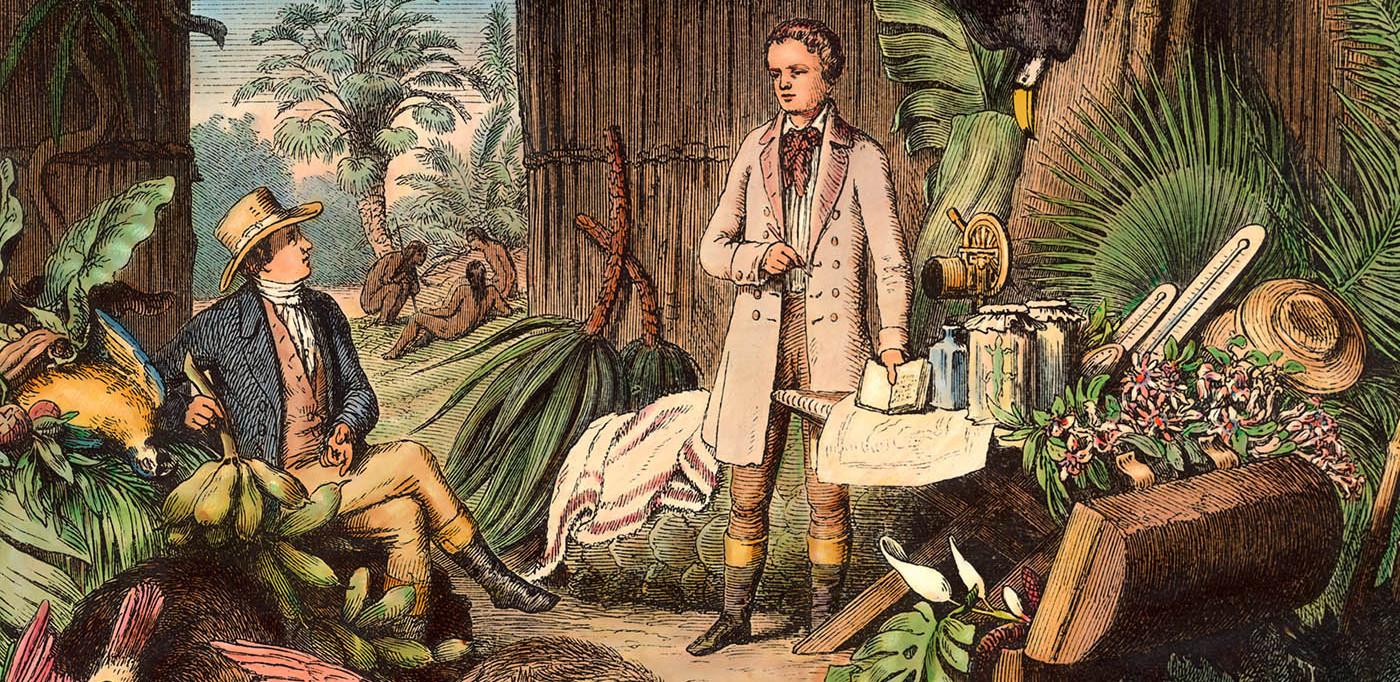 Briefe Alexander Von Humboldt : Projekt alexander von humboldts amerikanische